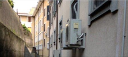 impianto di condizionamento di un appartamento
