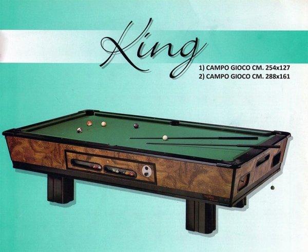 Tavolo da biliardo King