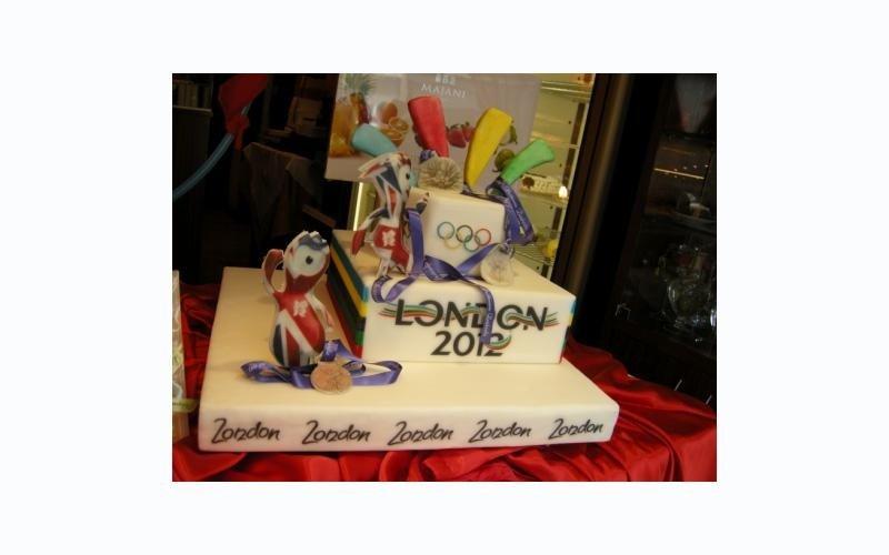 torta olimpiadi Londra