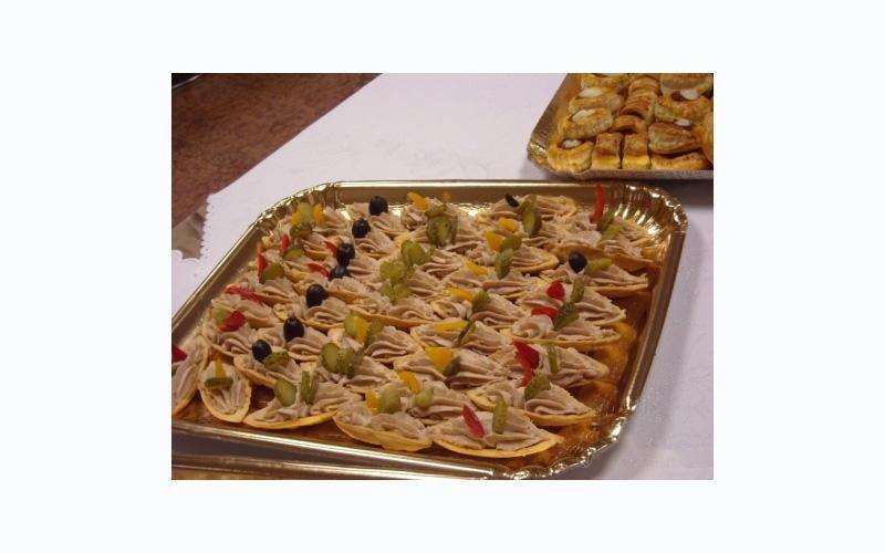 pasticcini salati assortiti