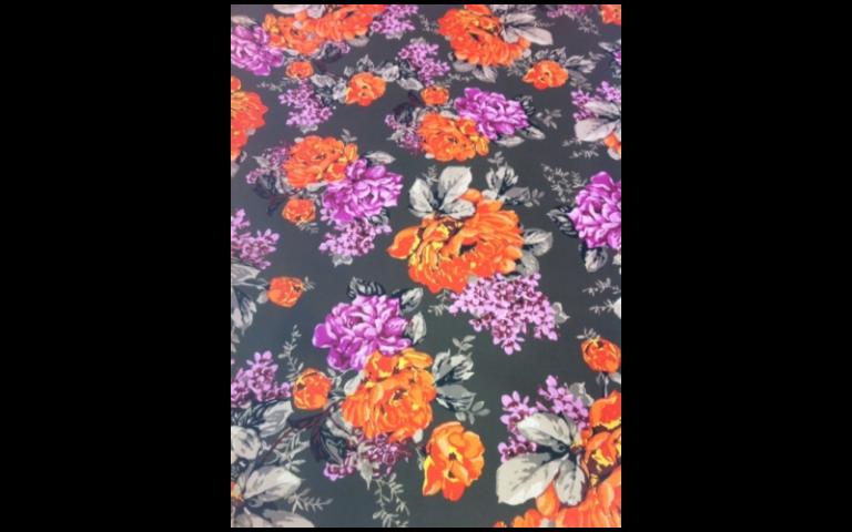 tessuto fiorito