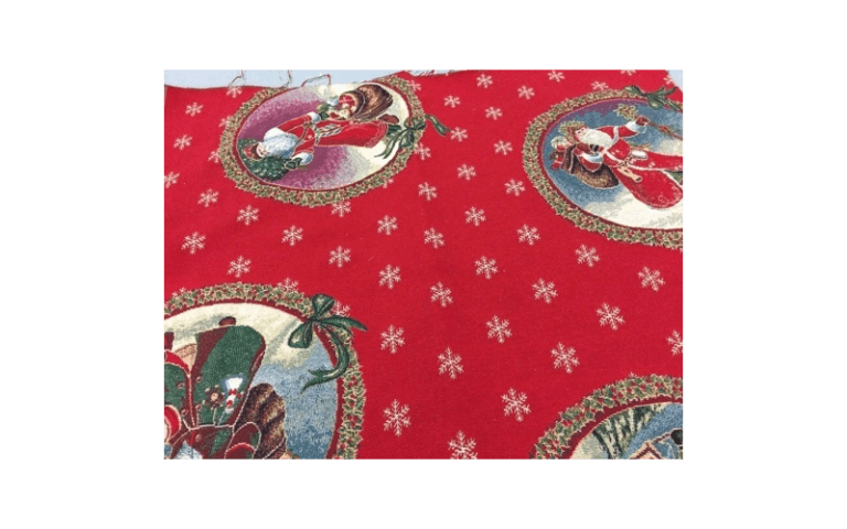 tessuto per Natale