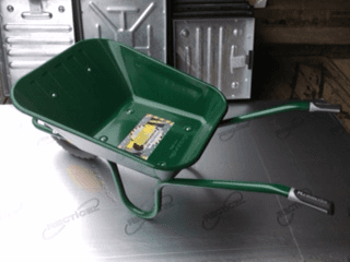 Contractors Wheelbarrow green