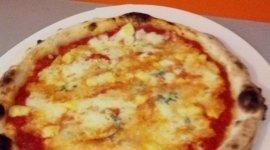 Pizza con carciofi