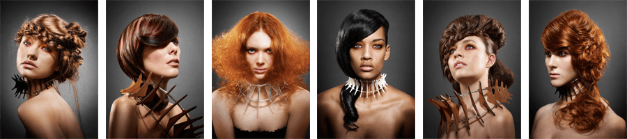 Award-winning examples of Christchurch hairdressing
