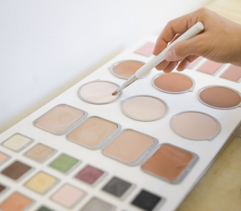 Kit materiale trucco