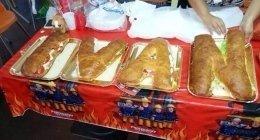 buffet per feste, panbrioche, panzerottini