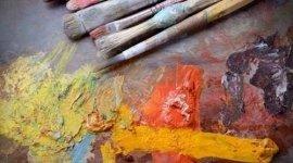 colori ad olio, grafica