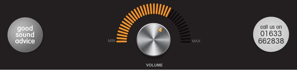 Image showing a volume dial for sound solutions by Simcol Communications in Newport, Wales