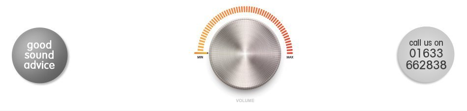 Image showing a modern sound volume dial