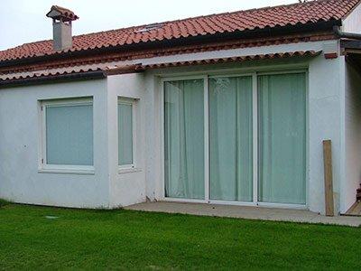 Serramenti in legno/alluminio per arredo case a Codevigo
