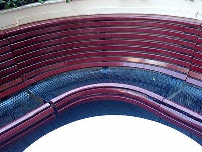 Costruzioni metalliche colorate a Codevigo
