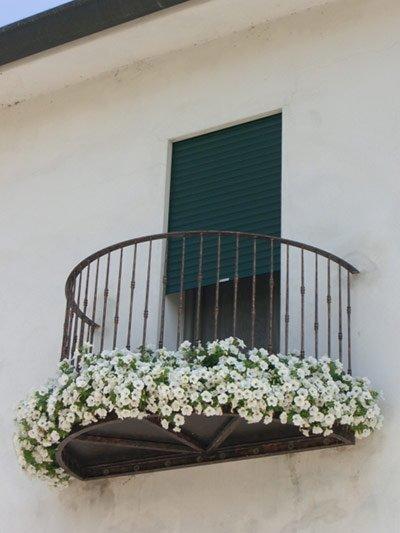 Ringhiere in ferro per balcone a Codevigo