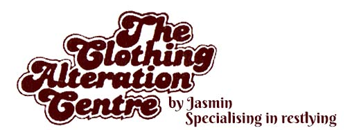 the clothing alteration centre by jasmin business logo