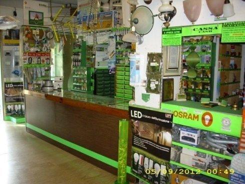 Panoramica del negozio interno