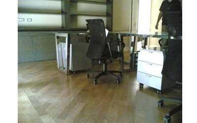 Ufficio acciaio inox