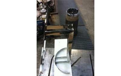 Base tavolo inox