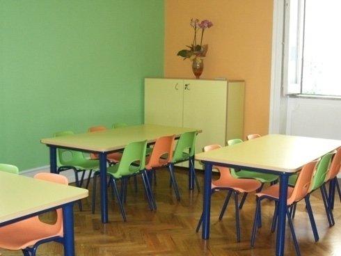NEMO dispone di una mensa e la cucina interna è adatta ai bambini.