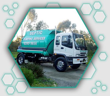 septic pumping services white isuzu giga fitted with electronic equipment