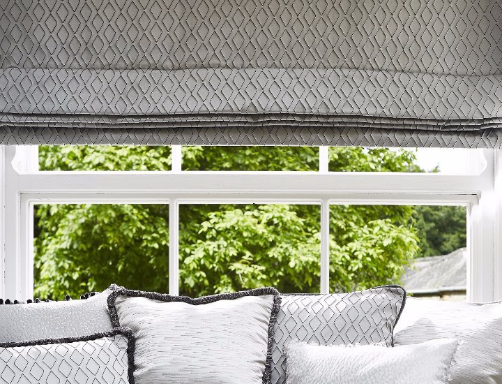blinds that match the sofa