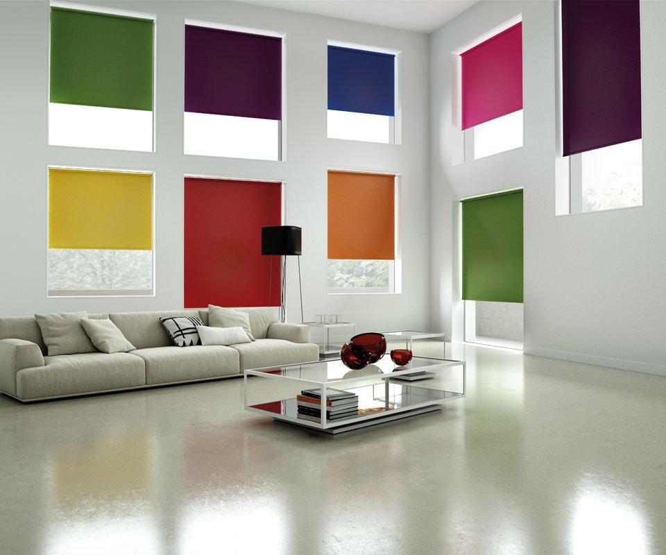 multicolour blinds