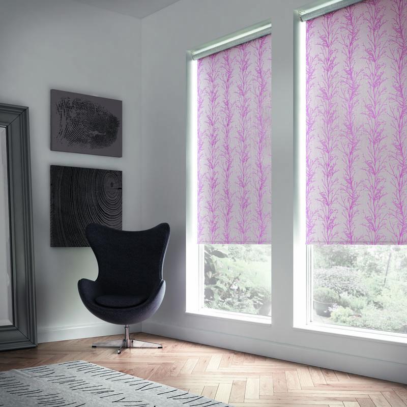 pink blinds