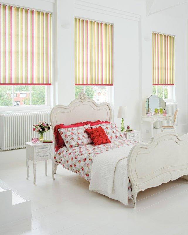 half open blinds