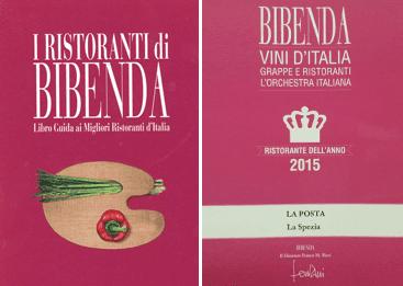 bibenda restaurant of the year