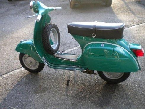 Verniciatura scooter