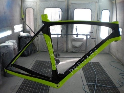 Verniciatura bici