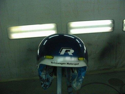 Colorazione casco