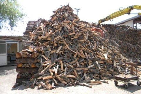ceppi di legna