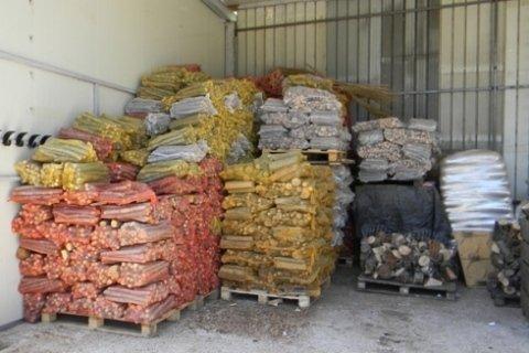 sacchi di legna