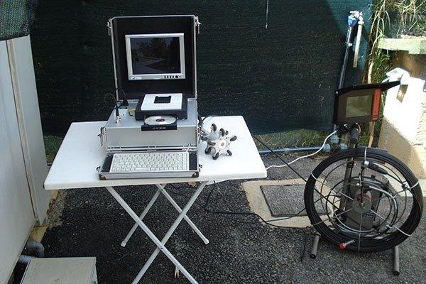 macchinario per la videoispezione