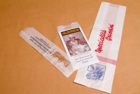 sacchetti di carta per  per pane e dolci