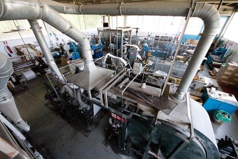 macchinari di taglio e stampa degli incarti packart