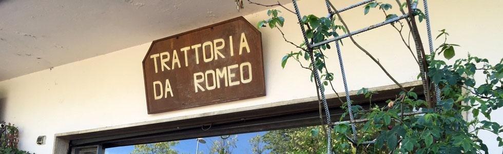Benvenuti alla Trattoria Da Romeo