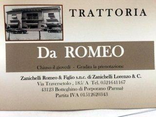 Trattoria da Romeo