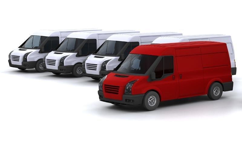 furgoni per consegna merce