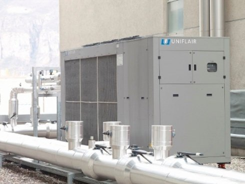 impianto di refrigerazione industriale