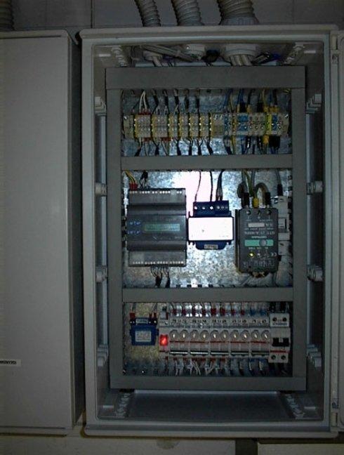 centralina di controllo e supervisione