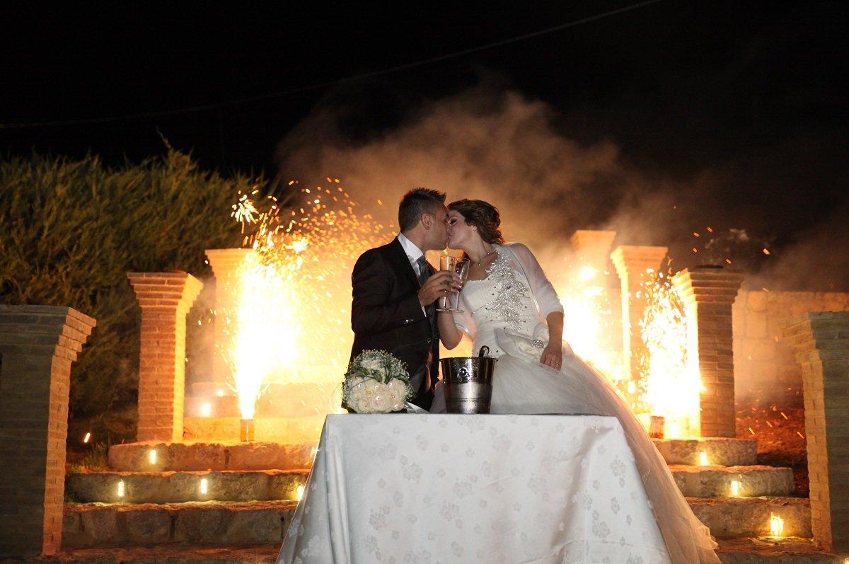 Ricevimento di matrimonio a Canicattì