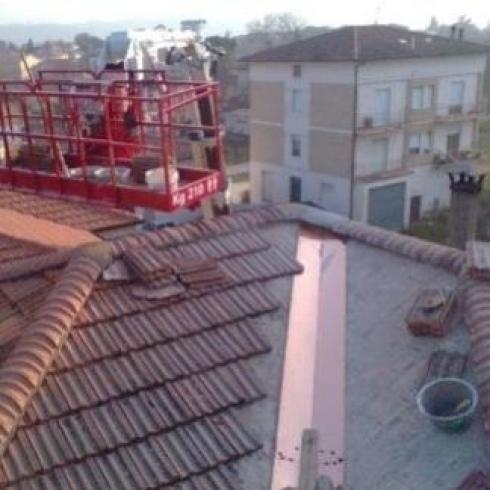 Rivestimenti in rame per tetti