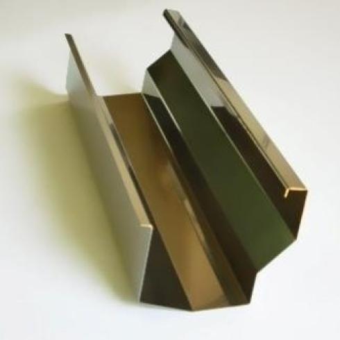 Grondaie preverniciate in alluminio