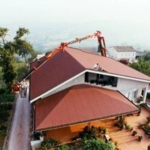 lattoneria per i tetti a falda