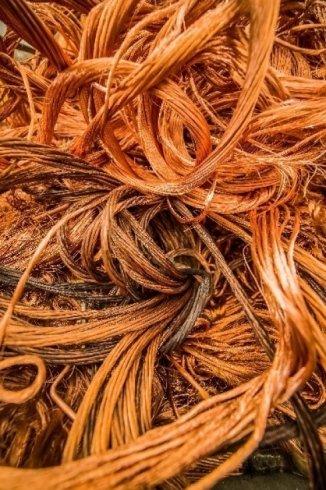 stoccaggio materiale in rame, vendita materiale in rame, commercio materiale in rame