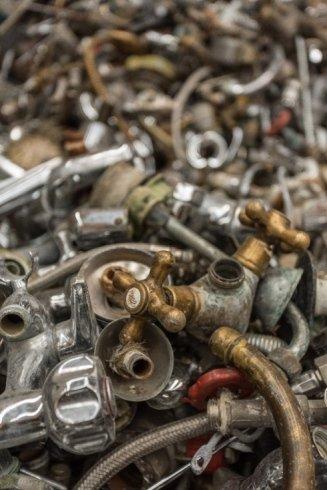 recupero scarti ferrosi, stoccaggio materiali ferrosi, recupero cavi elettrici