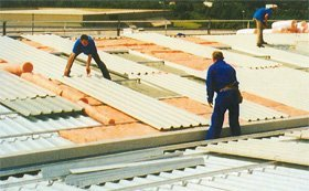 Insulated roof systems - Middlesex, Sussex - ICRR - Roof installation