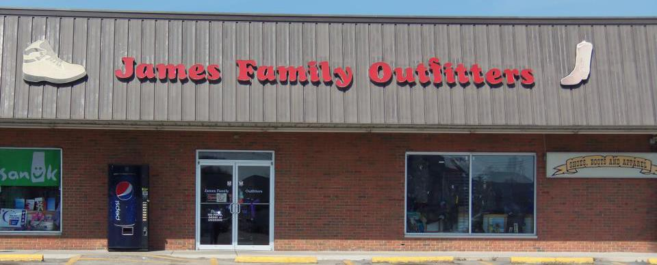 high heeled shoes and outdoor apparel in Grayson, KY