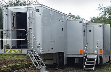 Trailers and articulated OB vans